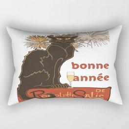 Bonne Annee Happy New Year Parody Rectangular Pillow