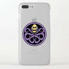 Hail Skeletor! Clear iPhone Case