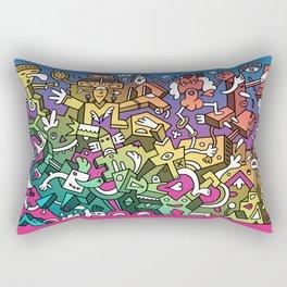 Thirty Chunks of Today Rectangular Pillow