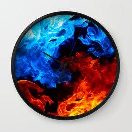 Cinematic Flame Art Wall Clock