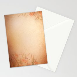 lily floral cloth abstract Stationery Cards