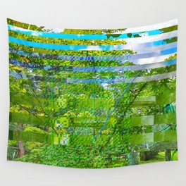 Landscape of My Heart (segment 1) Wall Tapestry