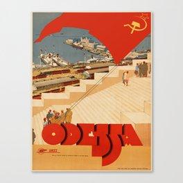 Vintage poster - Odessa Canvas Print