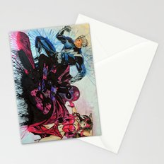Magneto, Quicksilver, Scarlet Witch Stationery Cards