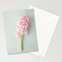 Textured Hyacinth Stationery Cards