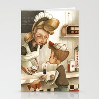 50s Stationery Cards featuring 50s Style by Daniela Volpari