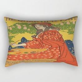 Latin Quarter Rectangular Pillow