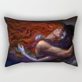 flames and ashes Rectangular Pillow