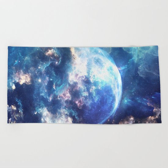 Bulle Spatial Beach Towel
