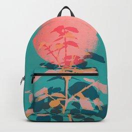 Flower noir Backpack