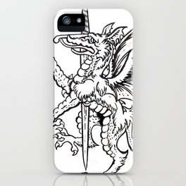 Logres Dragon iPhone Case