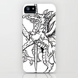 Logres Dragon iPhone Case