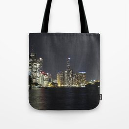 Brisbane by night Tote Bag
