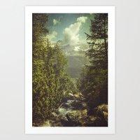 italian Art Prints featuring Mountain View - Italian Alps by Dirk Wuestenhagen Imagery