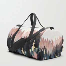 Spring Forest Light Duffle Bag