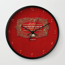 Heart and Soul Wall Clock