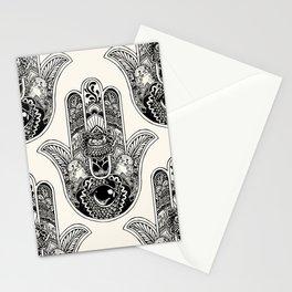 Hamsa Hand Otter Stationery Cards