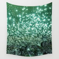 sparkle Wall Tapestries featuring NATURAL SPARKLE by Catspaws