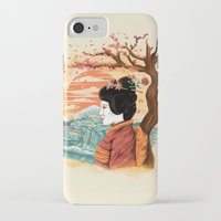 geisha iPhone & iPod Cases featuring geisha by itssummer85