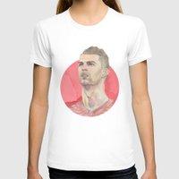 ronaldo T-shirts featuring Ronaldo by Megan Diño