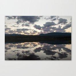 Lava Lake Sunrise Canvas Print