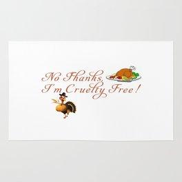 Cruelty Free Thanksgiving Rug