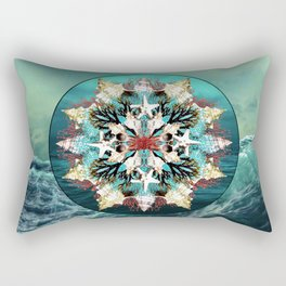 Ocean Jewels Shell And Coral Rectangular Pillow