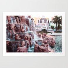 Las Vegas Art Print