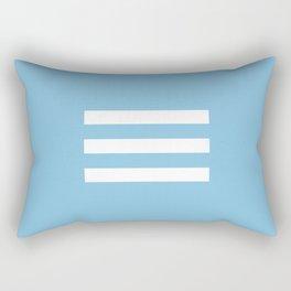 SKY BLUES Rectangular Pillow