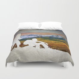 Autumn Hike Duvet Cover
