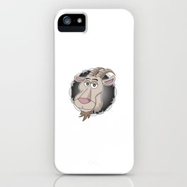 """""""Relax I've goat this"""" funny hilarious tee design for you and your friends and your family! iPhone Case"""