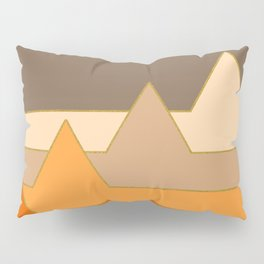 Orange Mountains #society6 #decor #buyart Pillow Sham