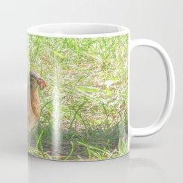 Bird and a Worm Coffee Mug