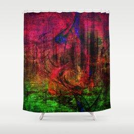 Merkator Shower Curtain