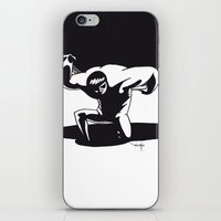 atlas iPhone & iPod Skins featuring atlas by Nioko