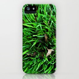 greeen iPhone Case