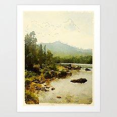 Baxter State Park Art Print