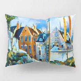Preston Dickinson Street in Quebec Pillow Sham