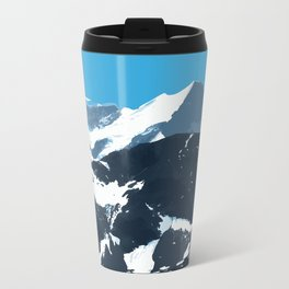 swiss mountains Metal Travel Mug
