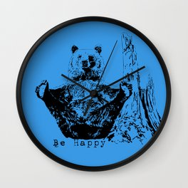 Happy To Bear It With You Wall Clock