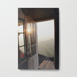 Early Mountain Mornings Metal Print