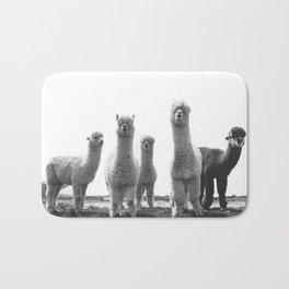 alpaca posse Bath Mat