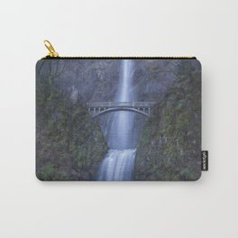 Multnomah Falls, painterly Carry-All Pouch