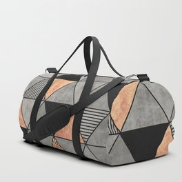 Concrete and Copper Triangles 2 Duffle Bag