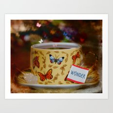Have a Cup of Wonder Everyday Art Print