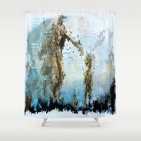 doom Shower Curtains featuring Doom Family by Niemes