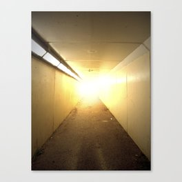 Light at the End of the Tunnel Canvas Print