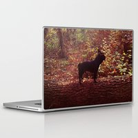 frenchie Laptop & iPad Skins featuring Frenchie by KrizanDS