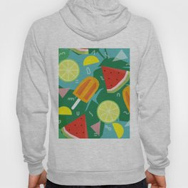 Watermelon, Lemon and Ice Lolly Hoody