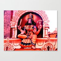 hindu Canvas Prints featuring Hindu 2 by very giorgious